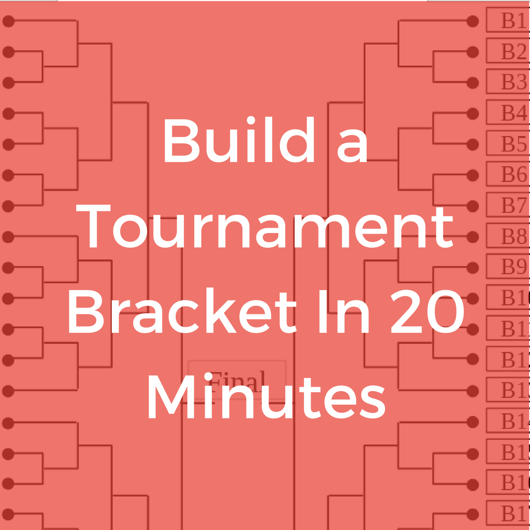Build a Tournament Bracket in 20 Minutes | Google for Clubs