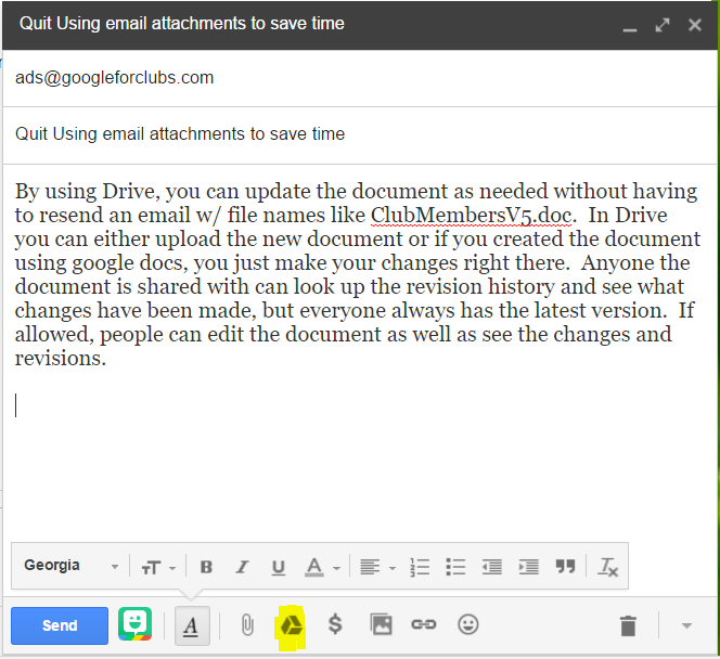 image of gmail new mail