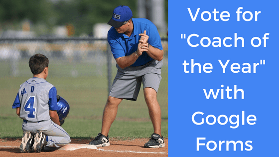 coach demonstrating batting to player, vote for coach of the year