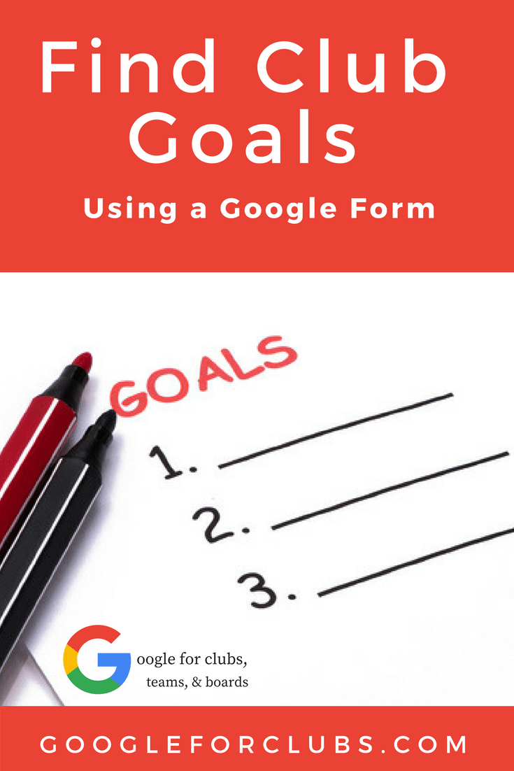 Finding goals is crucial for running a successful club.  Create a form that solicits feedback from your parents on what their goals are for their player and the club in general.